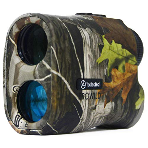 TecTecTec ProWild Hunting Rangefinder - 6x24 Laser Range Finder for Hunting with...