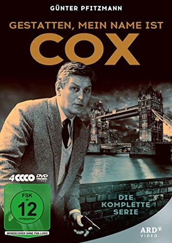 Gestatten, mein Name ist Cox - Die komplette Serie mit Günter Pfitzmann (4 DVDs)