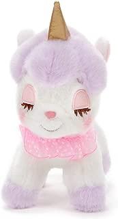 Amuse Unicorn no Cony Pastel Frill 8cm Mascot Strap Plush - Purple Kirara