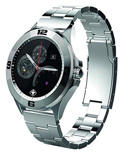 Tiger Smartwatch London mit Edelstahlarmband in silber