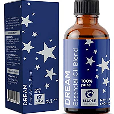 Essential Oils Aromatherapy Sleep Aid - Pure Ylang Ylang Chamomile Sage and Lavender Essential Oils for Diffuser - Mood Support Aromatherapy Oils for Stress Relief Sleep Aid and Natural Anxiety Relief