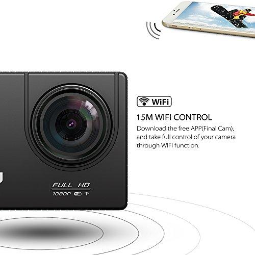 VTIN Action Kamera WIFI VTIN Full HD 1080P Sport Action Camera Cam Wasserdicht - 4