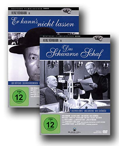 PATER BROWN : Das schwarze Schaf - Er kann's nicht lassen (Heinz Rühmann) [2 DVDs]
