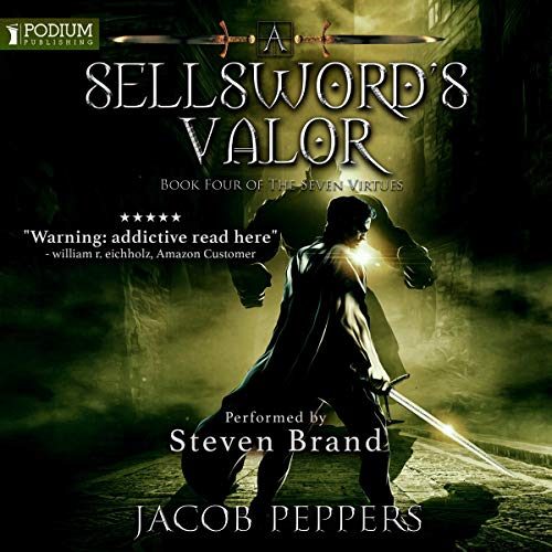 A Sellsword's Valor audiobook cover art