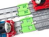 TrainLab Thomas Adventures to Thomas Take-n-Play Train Track adapters. Includes Mini Dog Bones! (Neon Green)