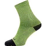 GORE WEAR C3 Calcetines para ciclismo unisex, Talla: 41-43, Color: amarillo neón/negro