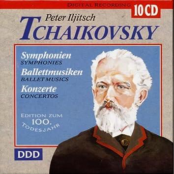 Peter Iljitsch Tchaikovsky - Symphonien, Balletmusiken, Konzerte
