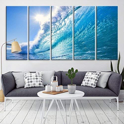 Details about  /Silver Fashion Canvas 5 pictures Style Art M51176 HUGE XXL Wall Mural Cheap show original title