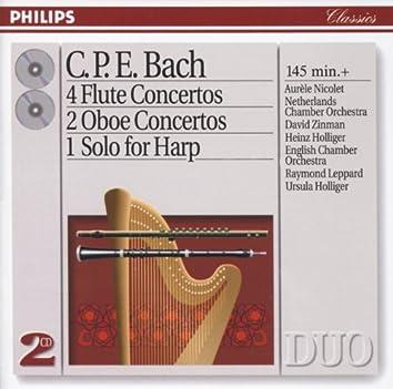Bach, C.P.E.: 4 Flute Concertos; 2 Oboe Concertos, etc.
