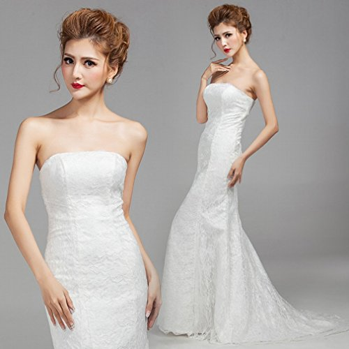 Moderne Sch?ne Brautkleid Taille Tattoo Schwanz Tattoo Kleid War Dünne Dünne Braut Kleid Brautkleid,EIN,L