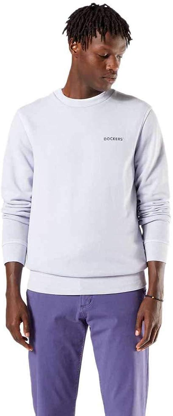 Dockers Logo Sweatshirt, Sudadera Hombre