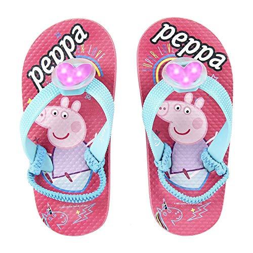 Cerdá Chanclas Niña Playa de Peppa Pig con Luz, 27 EU