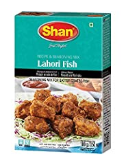 Quantity - Shan Lahori FIsh Recipe and Seasoning Mix comes packaged and sealed in a box containing a packet of 100g of spices. Easy to use - all the ingredients and instructions are given at the back of the box. Easy to prepare - Now you don't need t...