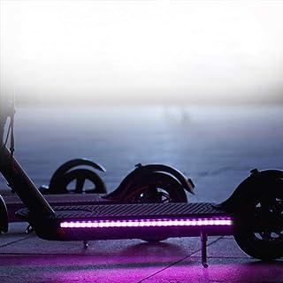 comprar comparacion Frontoppy Lámpara de Barra de luz de Tira LED Plegable para Xiaomi Mijia M365 Scooter eléctrico monopatín, luz Decorativa ...