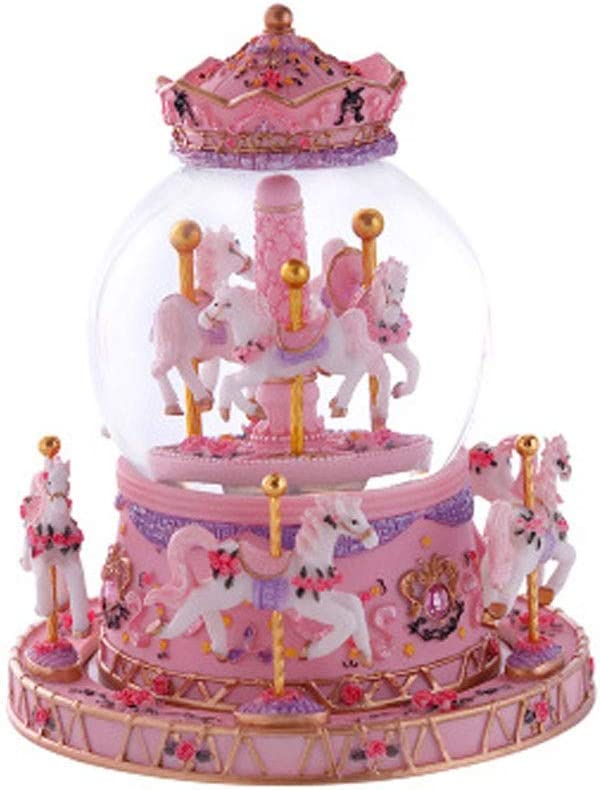 Recommendation WYBFZTT-188 Music New arrival Box Carousel Glass Ball Doll Dollhou Miniature
