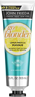 John Frieda Go Blonder Lemon Miracle Masque, 3.5 Fluid Ounce