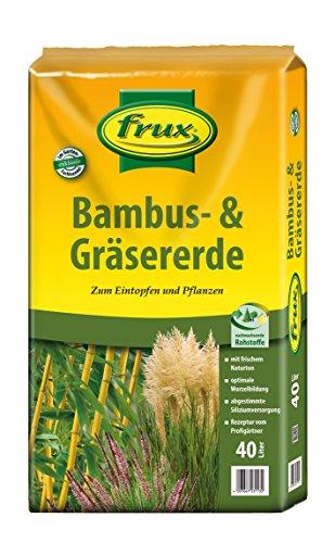 frux - Bambuserde 40l 1 Palette/ 54 Sack