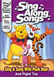 Disney's Sing Along Songs - Sing a Song With Pooh Bear and Piglet Too