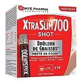 Forté Pharma Xtraslim 700 Shot | Brûleur de Graisses sous Forme de Shots | 14 Shots = 14 Jours