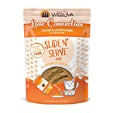 Weruva Slide N' Serve Paté Wet Cat Food, Love Connection Chicken & Salmon Dinner, 2.8oz Pouch (Pack of 12)