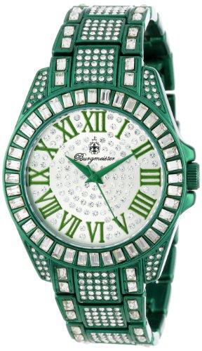 Burgmeister Armbanduhr für Damen mit Analog Anzeige, Quarz-Uhr mit Metall Armband - Wasserdichte Damenuhr mit zeitlosem, schickem Design - klassische, elegante Uhr für Frauen - BM159-010B Bollywood