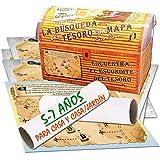Búsqueda del tesoro con mapa para casa y casa/jardín – 5-7 años - para fiestas...