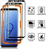 Luibor für Samsung Galaxy S9 Panzerglas(2 Stücke),Anti-Öl Anti-Bläschen Transparenz Gehärtetem Glas Bildschirmfolie Schutzfolie für Samsung Galaxy S9 Panzerglas