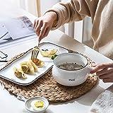 一人用のプレート食器セラミック食器北欧風西洋料理朝食プレート釉薬 (Color : BLUE, Size : 31.5*15.5*13CM)