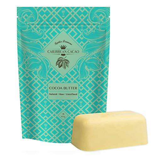 Caribbean Cacao Unrefined Cocoa Butter
