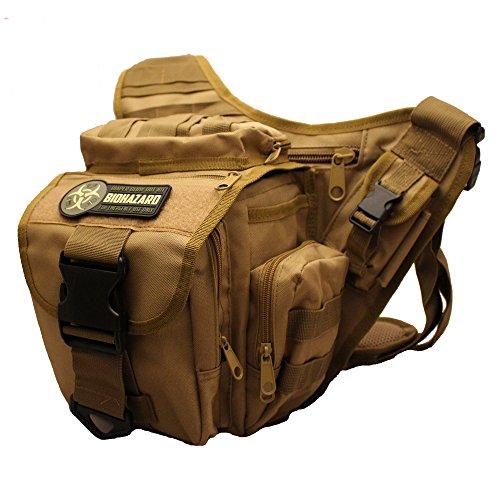Men's Diaper Bag for the Tactical Dad (Tan)