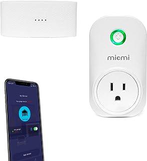 Smart WiFi Garage Door Opener, Wireless & WiFi Remote Smart Phone Controlled, Compatible with Amazon Alexa, Google Assistant, IFTTT, No Hub Required Micmi, Smart Garage Door Opener