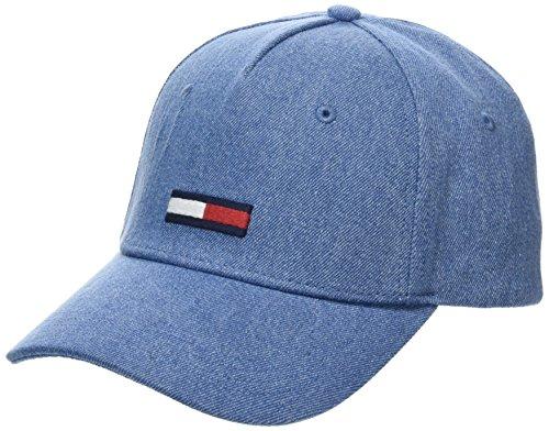 Tommy Hilfiger BB Gorra de béisbol, Azul (Denim 901), Talla única (Talla del fabricante: OS) Unisex Adulto