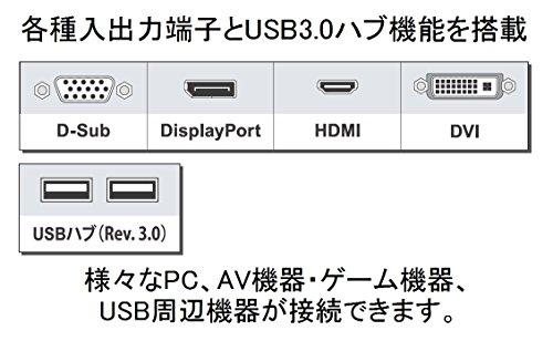 『EIZO FlexScan 24.1インチ カラー液晶モニター ( 1920×1200 / IPSパネル / 5ms / ノングレア/ ブラック ) EV2455-BKR』の4枚目の画像