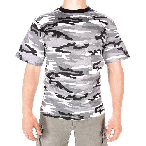 Mil-Tec US Army T-Shirt Camouflage léger (Urban/L)
