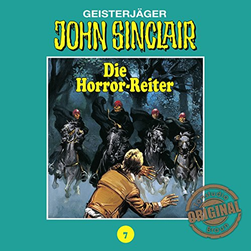 Die Horror-Reiter audiobook cover art