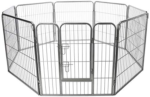 Paws & Pals Wire Pen Dog Fence Playpen
