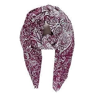 Scarf for Women Lightweight Floral Flower Scarves for Spring Summer Shawl Wrap