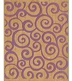 Rubber Stampede-Geo Background Swirl Stamp