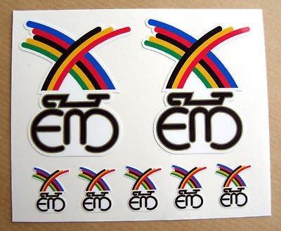 Eddy Merckx Vintage Fahrrad Rahmen Aufkleber-sticker