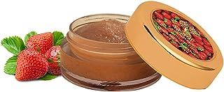 Khadi Essentials Luxurious Ayurvedic Strawberry & Beetroot Lip Lightening Lip Scrub for Lip Lightening, Brightening, Exfol...
