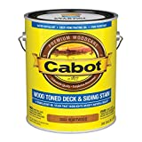 Cabot 3004 Wood Toned Deck & Siding Stain Oil Formula Oxide, 1 Gallon