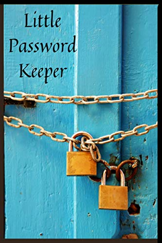 Small Password Keeper: Internet Password Organizer Book To Protect Usernames