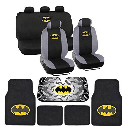 Batman Seat Cover & Carpet Floor Mats &...