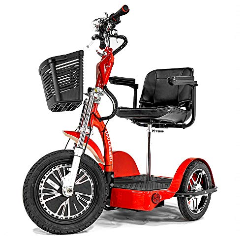Challenger X Electric Recreational Mobility Scooter with Deluxe Seat J50-DLX, 800 W Power, 18mph