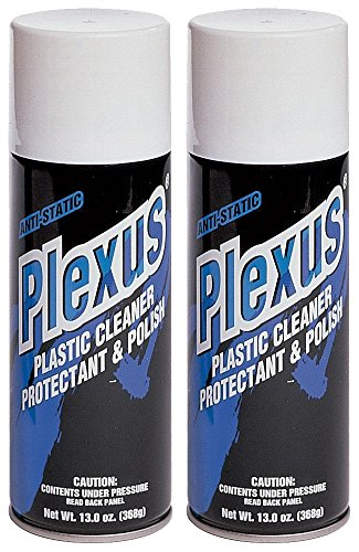 Plexus 20214-2PK-2PK Plastic Cleaner and Polish - 26 fl. oz., (Pack of 2)