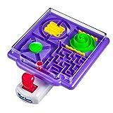 Kicko 4 in 1 Tilt Maze Puzzle Ball Game - 1 Piece Remote Control Brain Teaser Toy - Ideas, Playtime Activity, Stimulator, Game Prizes, Indoor Activity, Enhance Motor Skills, Amusement Park