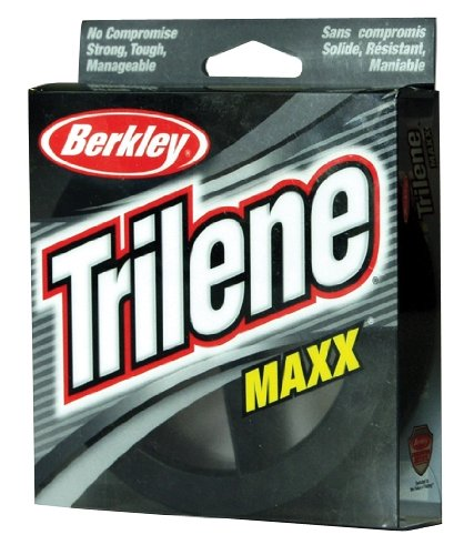 Berkley Trilene Maxx Monofilament 330 Yd Spool(10-Pound,Clear)