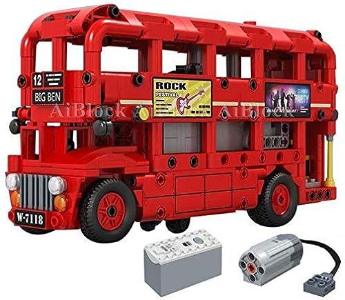 Esperando por ti Q-Man Ingenioso Juguetes   Technic Bus Bus Bus Motorizado Power Función   Set Construcción  A145  online barato
