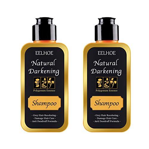 Polygonum Multiflorum Shampoo Bar,Moisturizing Hair, Black Hair Care Shampoo, Natural Hair Color Shampoo Unisex (100ml 2pcs)