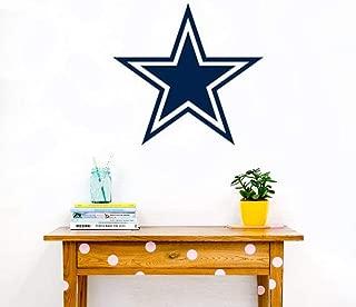 Dallas Cowboys Decal - Football Team Logo Mural Decor - Dallas Cowboys Sticker